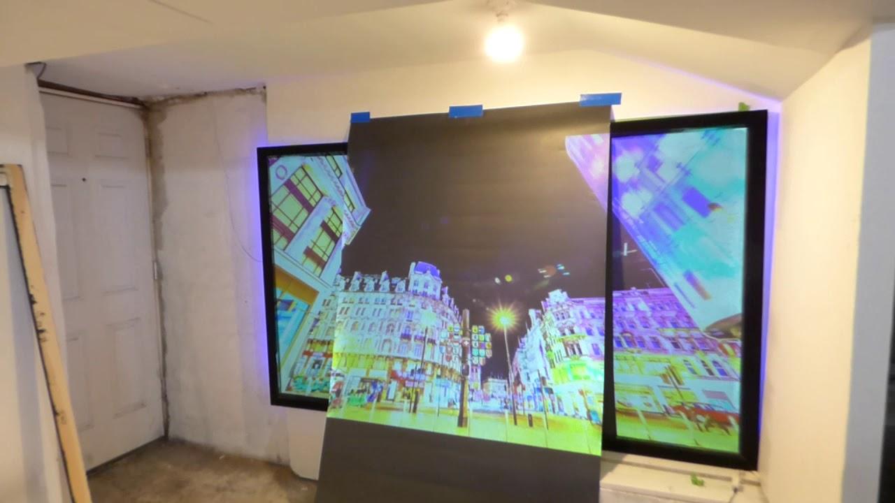 Coming Soon Luminous Alr Wallpaper Projection Screen Paint