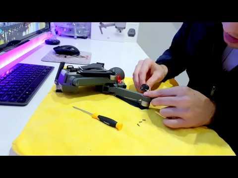 DJI MAVIC PRO ARM LEG REPAIR HOW TO GUIDE