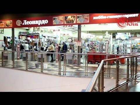 Покупки на день вышивальщиц в Хобби-гипермаркет Леонардо, прогулка по магазину.