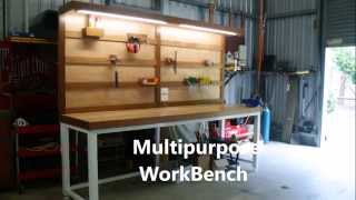 The Ultimate Multipurpose WorkBench with French Cleat Tool Storage