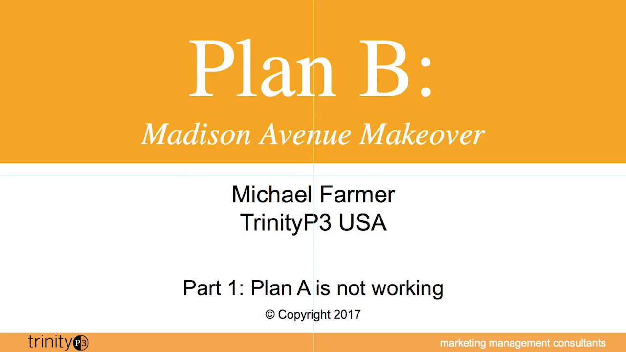 Plan B: Madison Avenue Makeover - Part 1 - YouTube