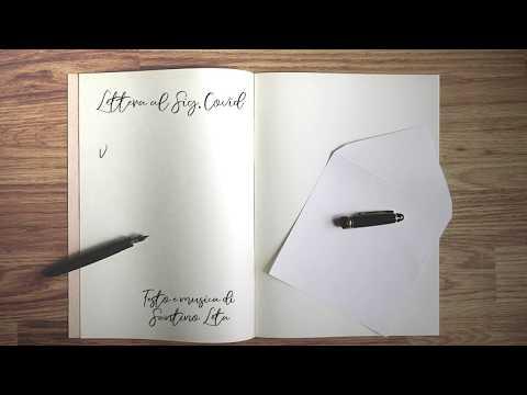 Lettera al Sig. Covid