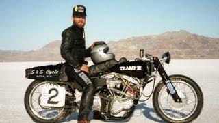 Dan Kinsey S&S Cycle Legend:Bonneville Stories