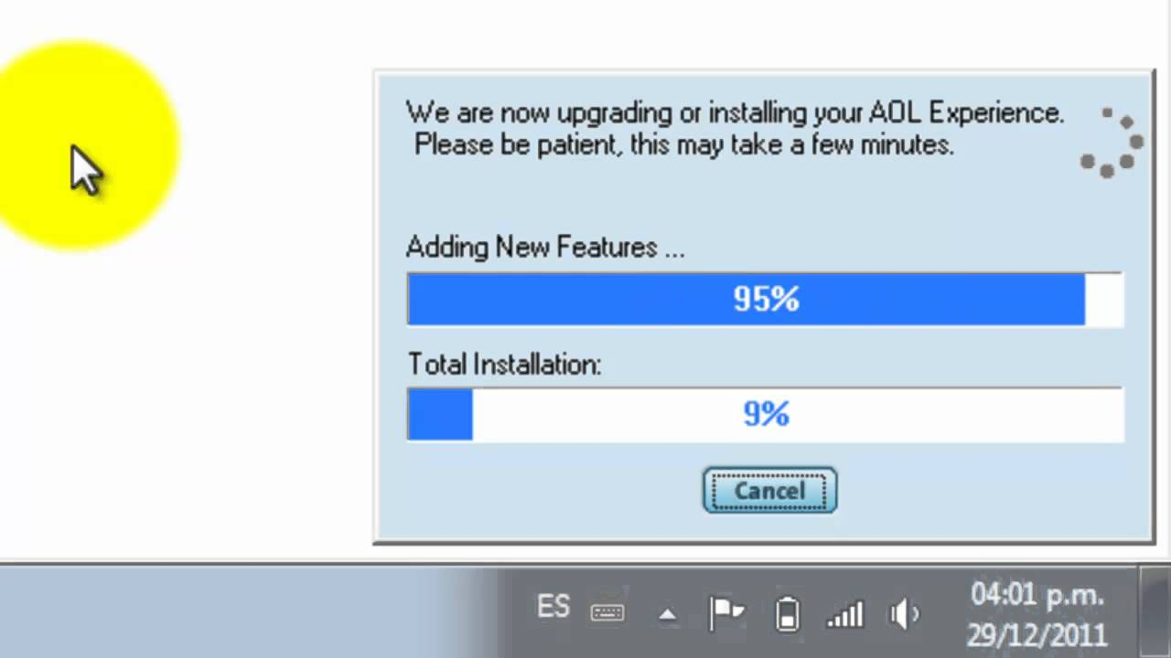 Cambiar ip a una de usa instalando aol 9 5 youtube - Cambiar ip usa ...