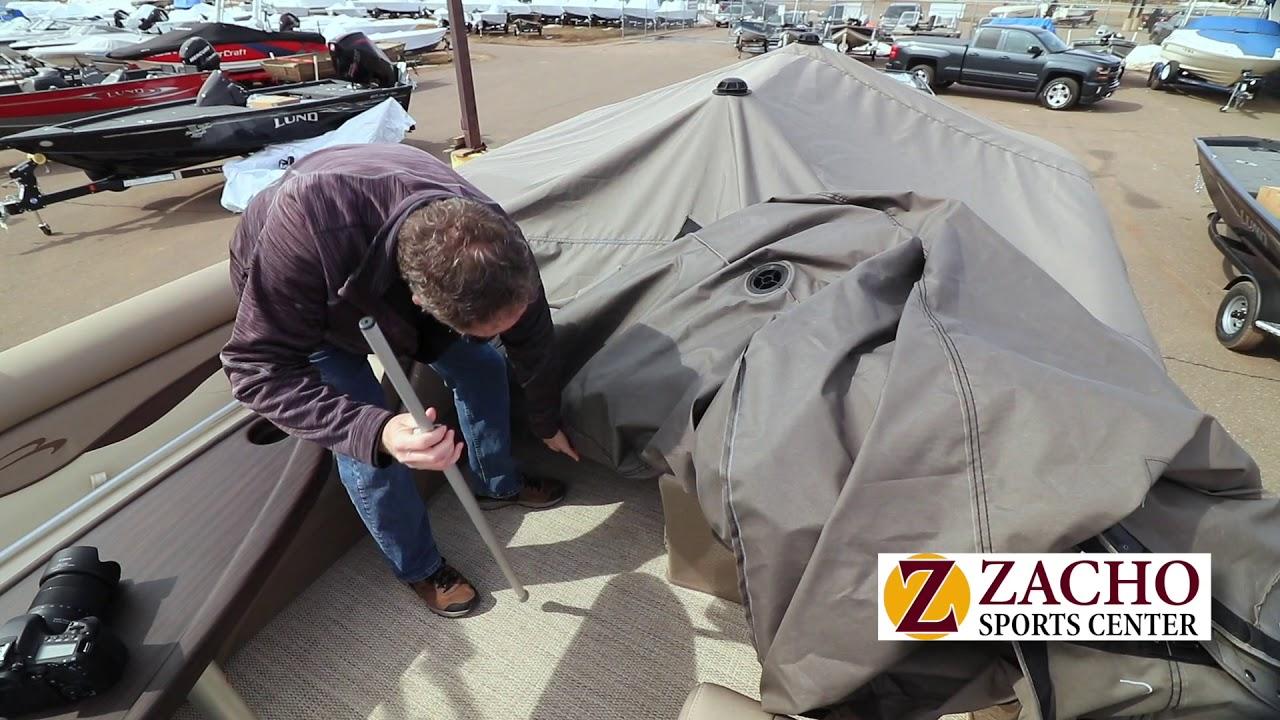 Bennington pontoon cover | Zacho Sports Center