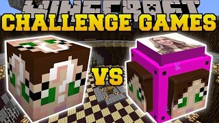 minecraft gamingwithjen vs gamingwithjen challenge games lucky block mod modded mini game