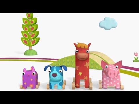 Теремок песенки для детей - Деревяшки - ЭСТАФЕТА