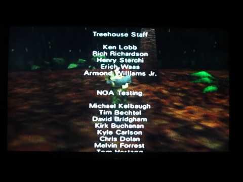 Goldeneye N64 End Credits