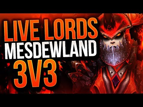 WE SURVIVED! LIVE LORDS! Cdew DK WoW Legion Arena Gameplay