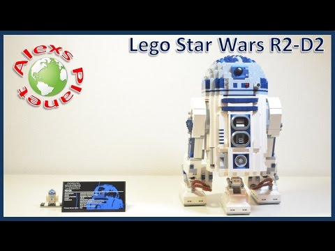 Lego StarWars R2D2 10225 Review Build
