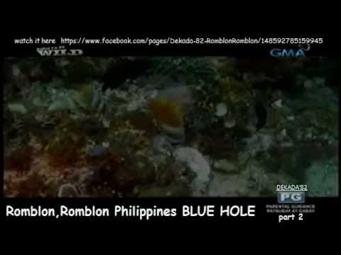 Romblon,Romblon Philippines BLUE HOLE part 2