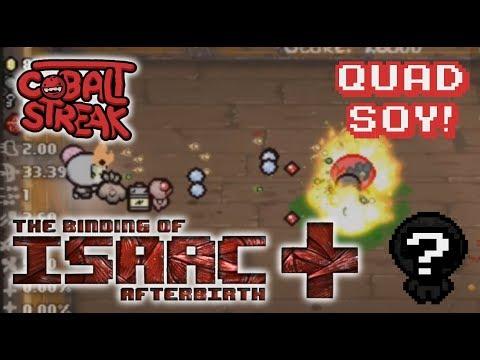 Afterbirth+ Random Streaks! 7-0 - Quad Soy - Cobalt Streak
