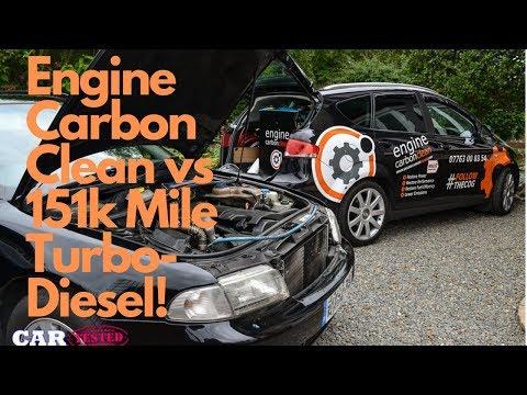 Engine Carbon Clean vs Rough-Running 151k Mile Audi Turbo-Diesel!