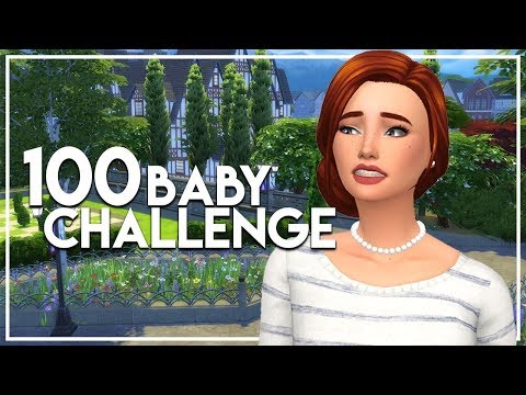 The Sims 4: 100 Baby Challenge #50 - Ghosties Go Away!