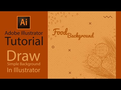 Adobe Illustrator Tutorial - Make Hand Draw Background In Illustrator thumbnail