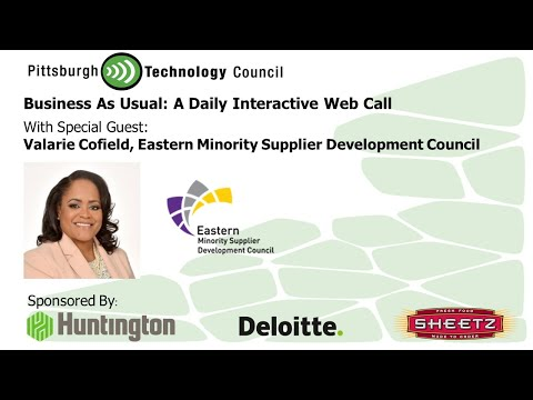 Business as Usual Featuring Valarie Cofield, Eastern Minority Supplier Development Council