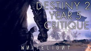 Destiny 2: A Critique of Year 2 / 5