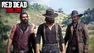 Red Dead Online #1 - Dem Arms