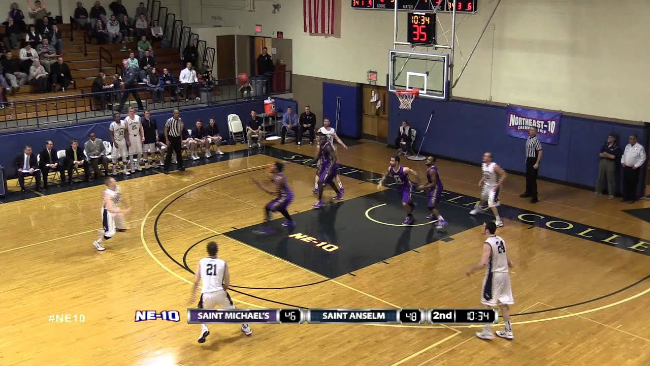 Men's Basketball: Saint Anselm Hawks hold off Saint ...