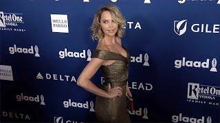 Arielle Kebbel 29th Annual GLAAD Media Awards Red Carpet