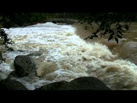 "Waterfall with Rapids 60mins ""Natural Sound and Video"""