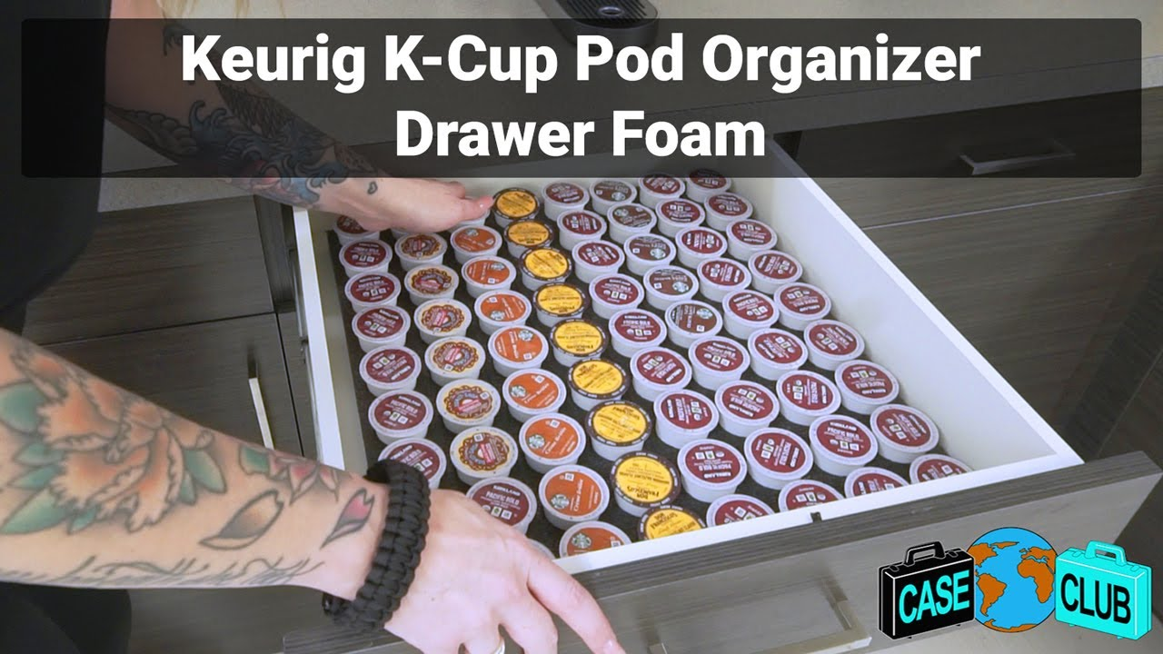 Case Club Keurig Pod Organizer Drawer Foam - Overview - Video