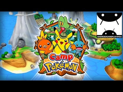 Download Youtube: Camp Pokémon Android GamePlay Trailer (By The Pokémon Company International)