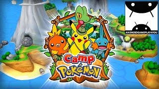 Camp Pokémon Android GamePlay Trailer (By The Pokémon Company International)
