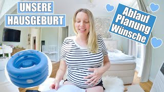 Wir bekommen unser Baby Zuhause 💙 Mit 3 Kinder? | Isabeau
