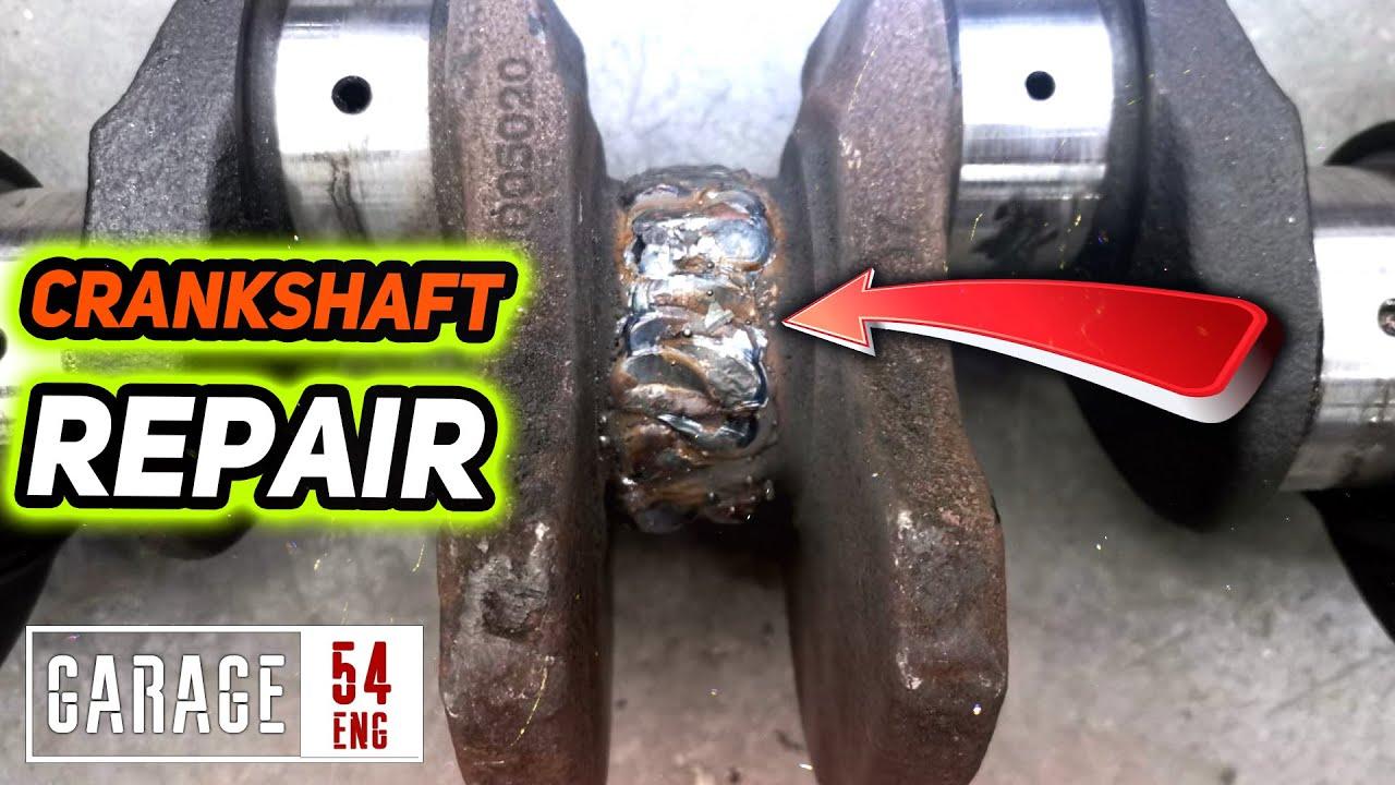 Welding a broken crankshaft – will it work?