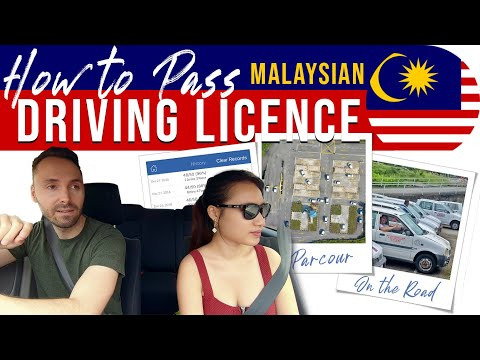 RPK - JPJ DRIVING TEST Malaysia - How to pass // Class B & D