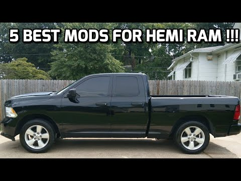 The 5 BEST MODS for HEMI RAM!!