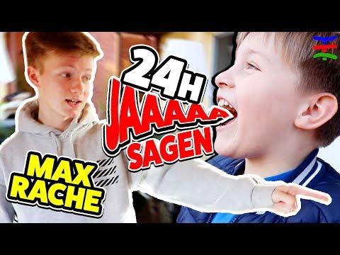 ASH 24 Stunden JA SAGEN zu allem was MAX will 🤣 KRASS TipTapTube