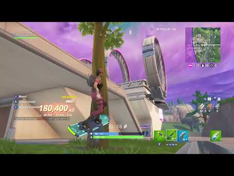 Try staying on a hoverboard and do the default dance to victory