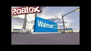 SHOPPING AT WALMART IN ROBLOX!