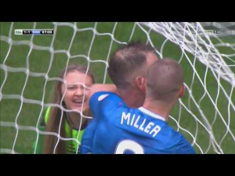 Clint Hill Goal vs Celtic