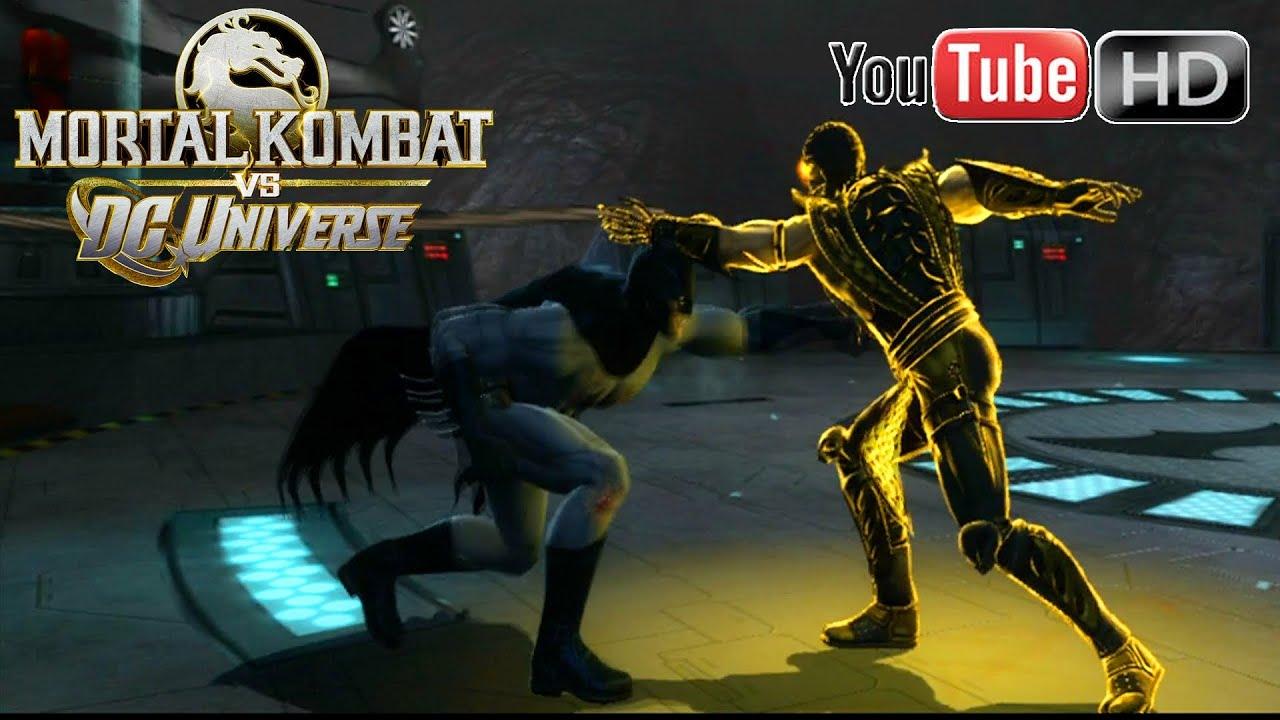 mortal kombat vs dc universe xbox 360 batman vs