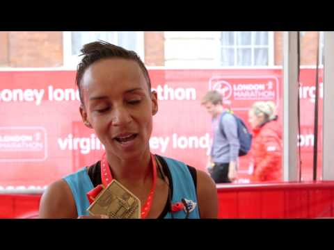 Adele Roberts following 2017 Virgin Money London Marathon