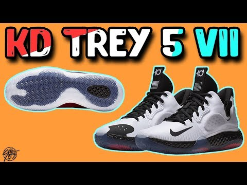 new product 89309 59bbe Nike KD Trey 5 VII Official Pictures Released! Only  90! - YouTube