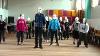 4. klasse Snedsted danser Svanesøen