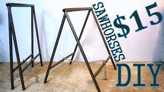 Steel SawHorses DIY [PLANS]