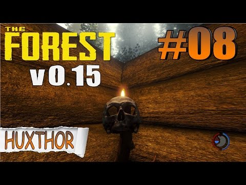 The Forest Update 0.15 - CLIMBING AXE + SKULL LAMP + BED + TARGET