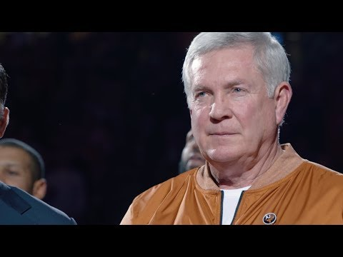 Mack Brown honored by National Football Foundation [Feb. 9, 2018]
