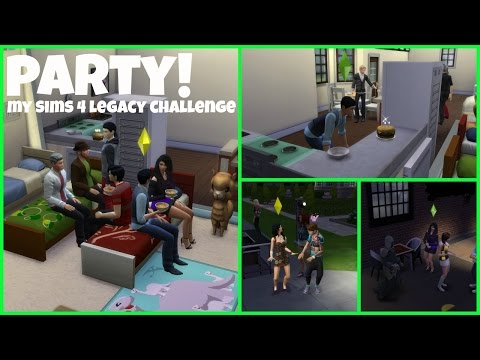 Party! | My Sims 4 Legacy Challenge Ep 21