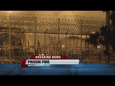 Prison Fire in North Carolina