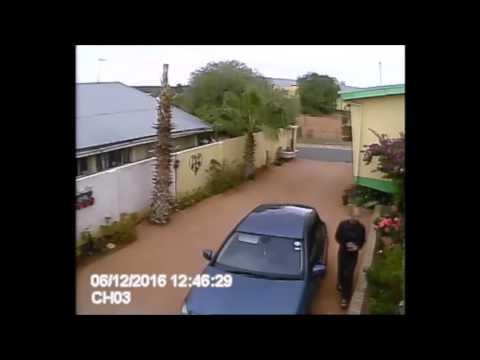 Daylight Robbery Upington Northern Cape CCTV