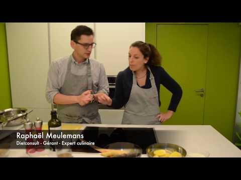 Recette : Suprême de pintade sur lit de légumes rôtis, noisettes et purée au thé fumé