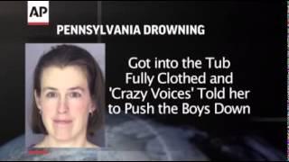 ▶ أم أمريكية تغرق أبنها الصغير في حوض الحمام بعد سماعها لأصوات غريبة تطلب منها ذلك 