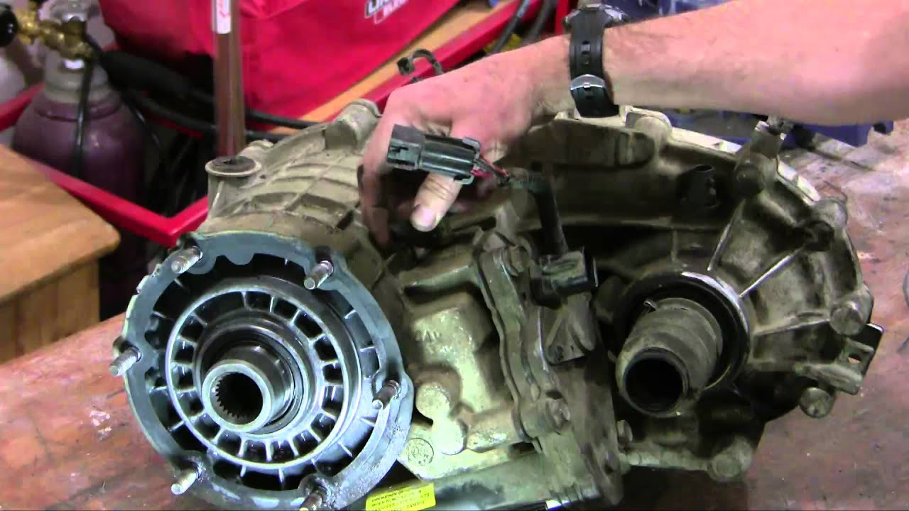 RemoveReplace GM 246 transfer case  2000 Chev Suburban  YouTube