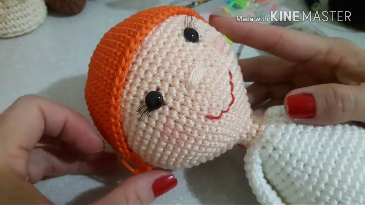O Mundo Encantado das Bonecas em Crochê | Amigurumi passo a passo ... | 720x1280